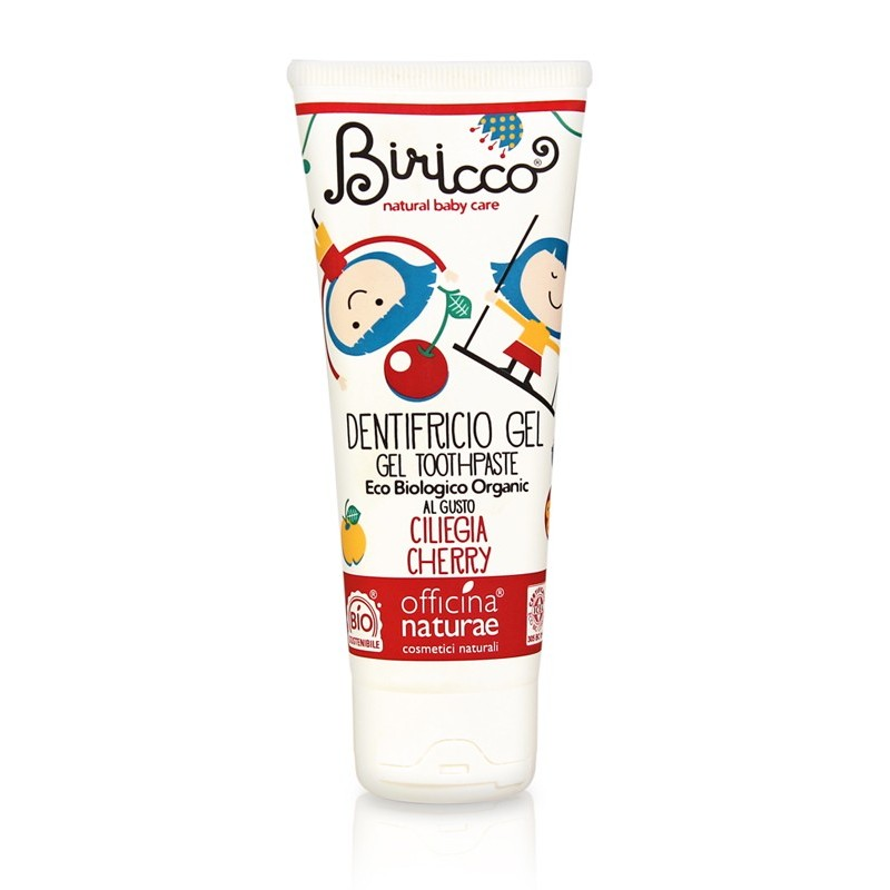 Kids Natural Toothpaste - Cherry Flavour