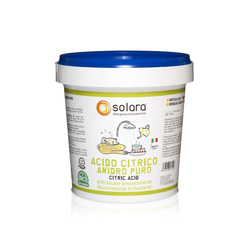 Pure Anhydrous Citric Acid Powder