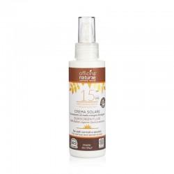 Sunscreen Fluid SPF 15 - Medium Protection in Bioplastic bottle