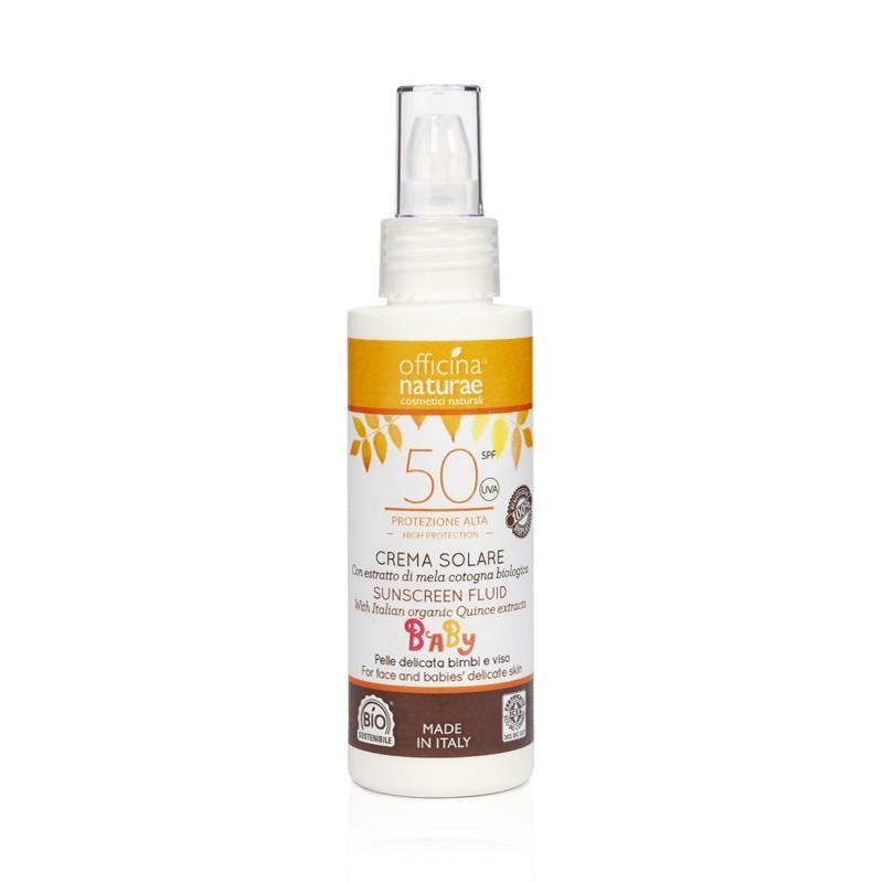 Sunscreen Fluid SPF 50 - High Protection In Bioplastic Bottle