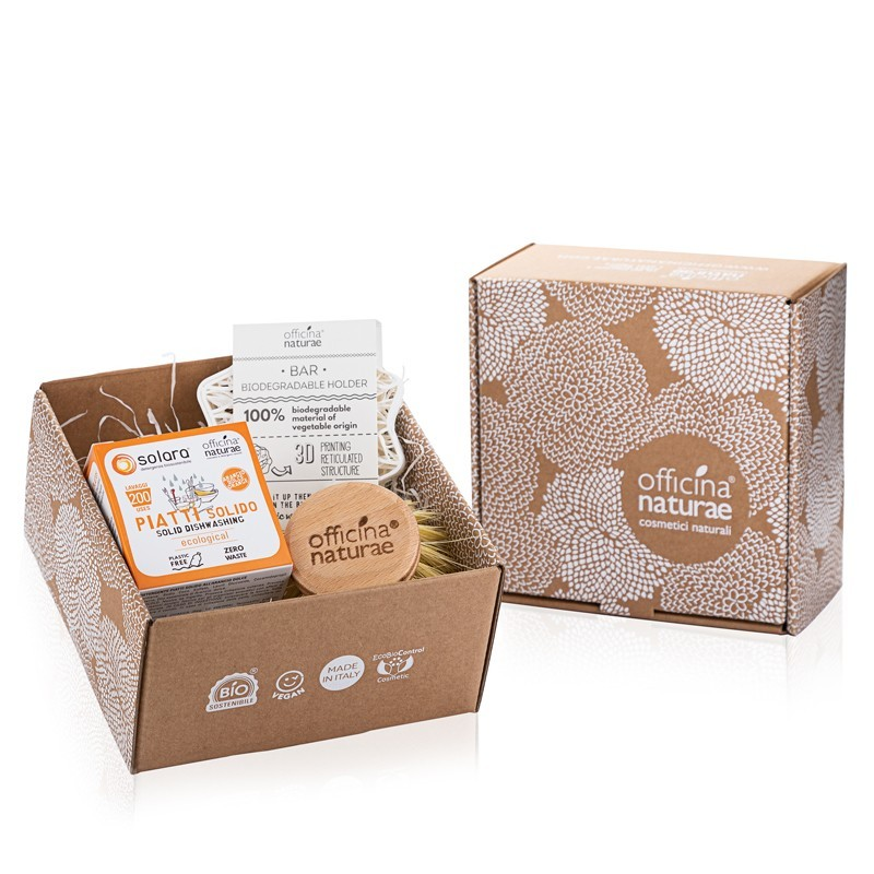 Gift Box Orange Solid Dishwashing